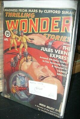 Thrilling Wonder Stories Us Edition April 1939 [1 Issues]