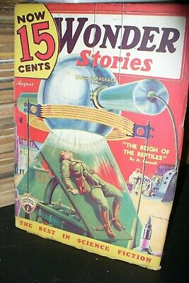 Wonder Stories Us Edition Feb + August 1935 [2 Issues]