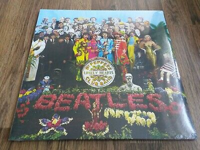 THE BEATLES - SGT PEPPERS LONELY HEARTS CLUB BAND NEW 180g LP SEALED