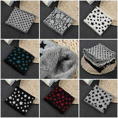 Kids Cotton Boys Girls Printed Ring Scarf Five Stars Neck Warmers Loop Scarves