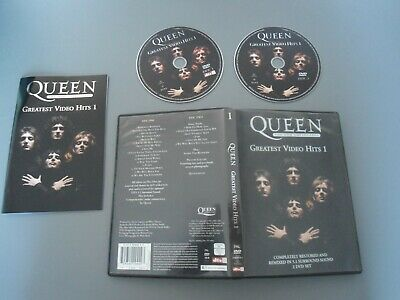 DVD QUEEN - GREATEST VIDEO HITS 1 - THE DVD COLLECTION Musikvideo