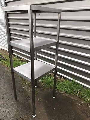 Stainless Steel Heavy Duty Tall Corner Shelving Unit
