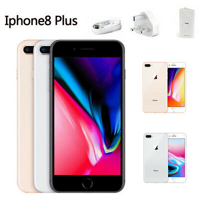 Apple iPhone 8 Plus 64GB 256GB Factory Unlocked Smartphone Gray Silver Gold New