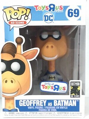 Funko Pop! Ad Icons 69 Geoffrey As Batman Toys R Us Canada Exclusive