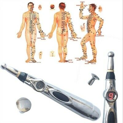 Hot Accupuncture Pen Massage Pen Energy Pen Relief Pain Tool Meridian Therapy AU