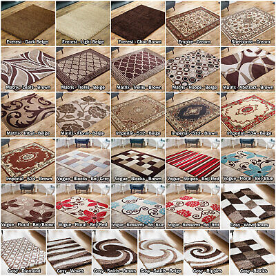 Brown Beige Large Modern Classic Imperial Quality Sale Area Rugs Runner Low Cost