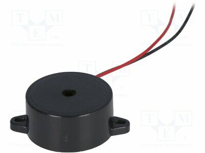 BZ-05 Sound transducer: piezo alarm - with built-in generator - 4mA
