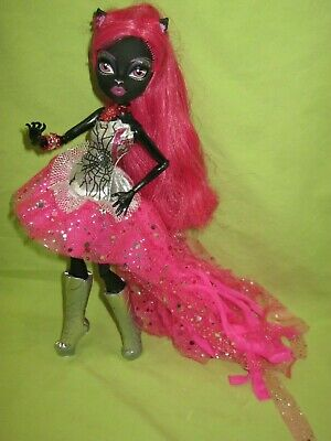 MONSTER HIGH Friday the 13th CATTY NOIR First Wave Black Cat DOLL &Outfit +Boots