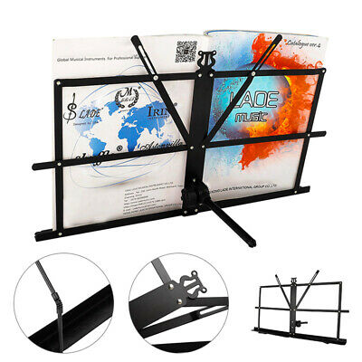 Desktop Sheet Music Stand Collapsible Foldable Tabletop Stand with Carry Bag