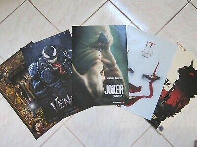 IT CHAPTER 2 2019 Lot Of 5 Original Cinemark XD Exclusive Mini Movie Posters