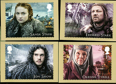 2018 Game of Thrones Mint Set of 16 PHQ cards