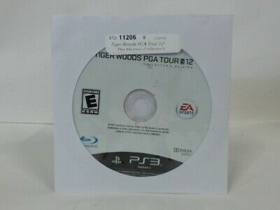 TIGER WOODS PGA TOUR 12: THE MASTERS COLLECTOR'S EDITION Playstation 3 PS3 Good