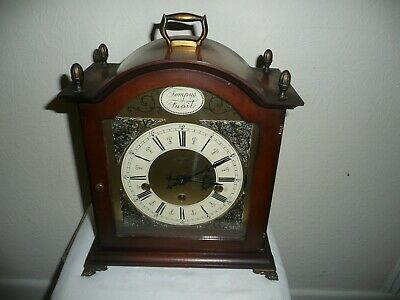 Hermle, Triple Chime Mantle Clock, 1050-020 Movement, VGC and Working Order.