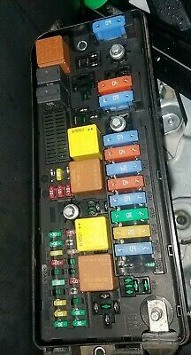 SAAB 9-3 93 07-11 Combi 2.0L Under Hood Front Fuse Box Relay Panel 12769640