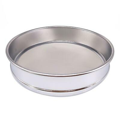 1pc 200 Mesh 0.075mm Aperture Lab Standard Test Sieve Stainless Steel Dia 200mm