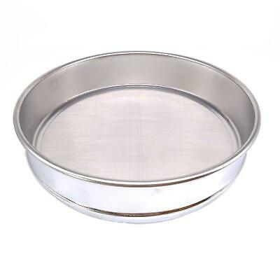 1pc 60 Mesh 0.3mm Aperture Lab Standard Test Sieve Stainless Steel Dia 200mm