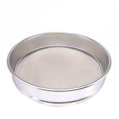 1pc 80 Mesh 0.2mm Aperture Lab Standard Test Sieve Stainless Steel Dia 200mm