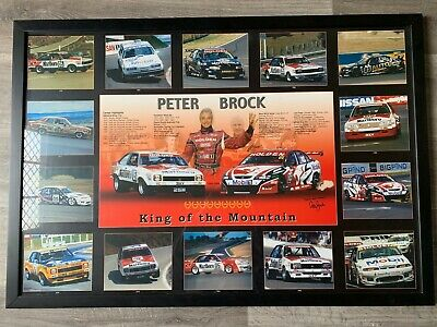 Peter Brock Framed Print