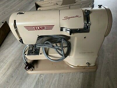 Elna Sewing Machine Vintage Tested And Working