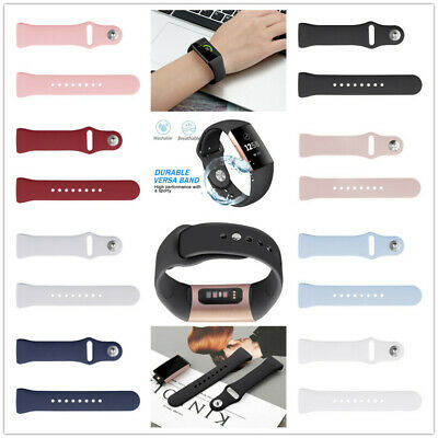 For Fitbit Charge 3 Band Replacement Wristband Watch Strap Silicone Sport Bands