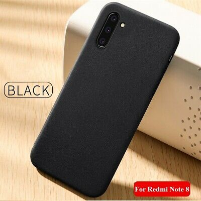 For Xiaomi Redmi Note 8T 8 Pro 8A 7A Shockproof Frosted Soft Silicone Matte Case