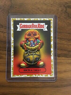 Rick R. Treat GOLD #35/50 2019 GARBAGE PAIL KIDS REVENGE OF OH THE HORROR-IBLE