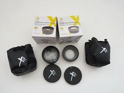 lens Xit Photo Series 2.2x High Definition AF Telephoto Wide Angle 0.43x 58mm