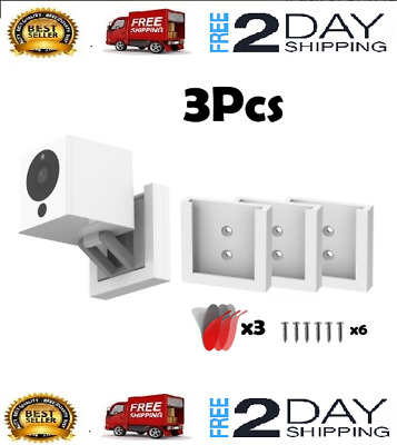 (Pack of 3) Wall Mount Wyze Cam V2 1080p HD Indoor Wireless Smart Home Camera