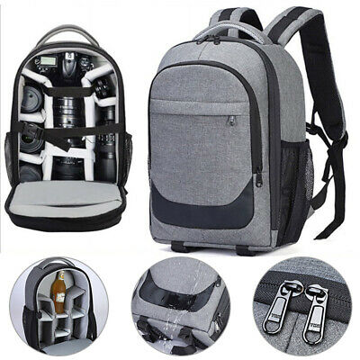 Camera Backpack Large Capacity DSLR SLR Camera Bag For Sony Canon Nikon
