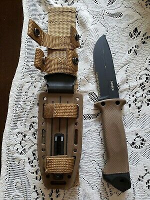 GERBER infantry lmf FIXED BLADE HUNTING KNIFE MADE IN USA FULL TANG WITH SHEATH