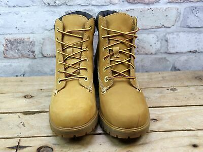 WOMENS TIMBERLAND SLIM Premium 6 Inch Tan Leather Ankle