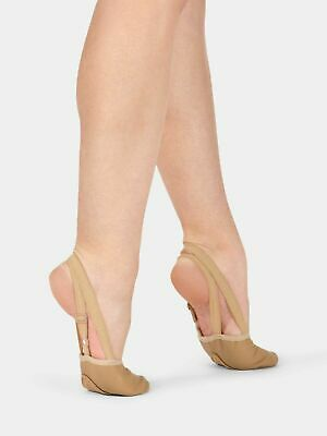 Angelo Luzio by Body Wrappers 600A Adult Size 6-7 Jazzy Tan Merce Sole Savers