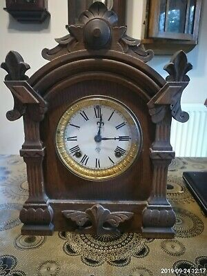 Antique Ansonia Clock Company 8 Day Striking  Mantel Clock 1882