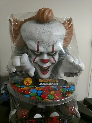 IT Pennywise Candy Bowl Holder Halloween Decoration Prop New