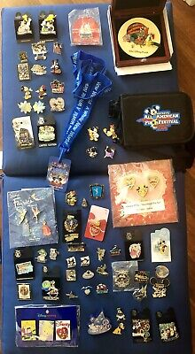 DISNEY Lot of Approx. 70 Trading Pins Incl. LE Boxed Sets Lanyard Series Rare