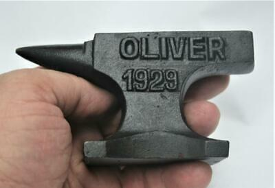 Reproduced Salesman's Sample - Small OLIVER 1929 ANVIL - ***** FOR CANADA ******
