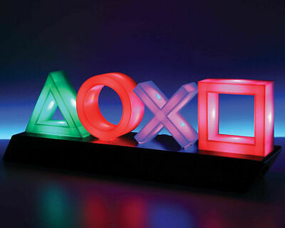 Playstation Icons Neon Lights LAMP Ps4 Psn Gift Gamer Students Home Decoration