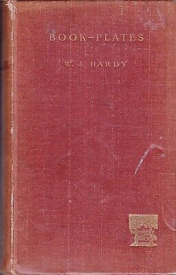 04194. Hardy - 'Book-Plates' Original RARE 1st Ed. London, 1893