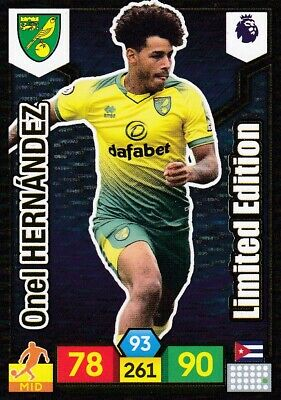 Panini Premier League 2019/20 Adrenalyn Onel Hernandez (Norwich City) Limited Ed