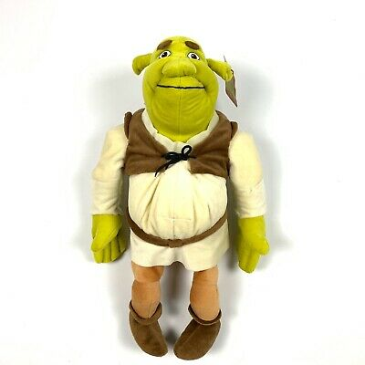 Nanco Shrek 2 Dreamworks Authentic Ogre Plush Stuffed Animal Toy 2004 20""