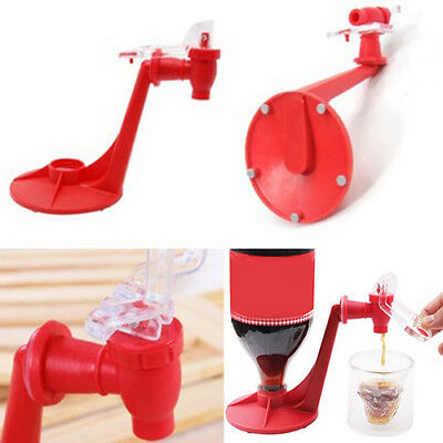 UK_ EG_ Creative Soda Drink Dispense Gadget Party Coke Automatic Dispenser Tool