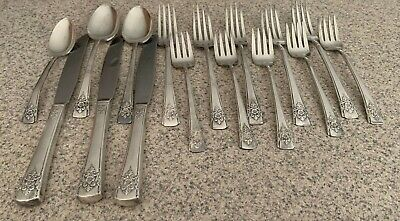 Odd pieces Antique ARTISTIC Silver Plated William A. Rogers AA Heavy Silverware