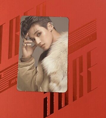 ATEEZ Wooyoung Treasure EP 2 Zero To One Official Photo Card