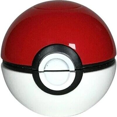 Collectors Edition Pokemon Pokeball 3 Piece Herb Grinder 55mm 2.2inch (Red)
