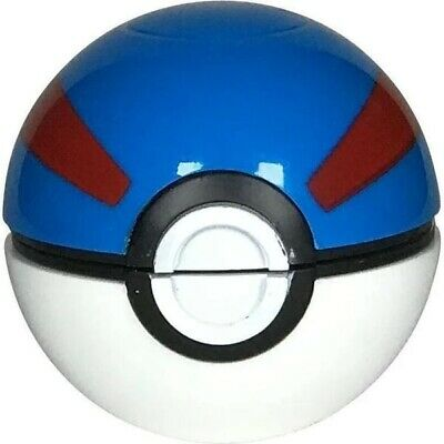 Collectors Edition Pokemon Pokeball 3 Piece Herb Grinder 55mm 2.2inch (Blue)