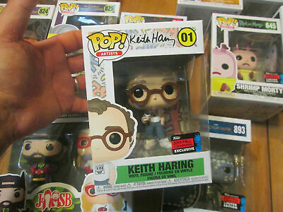 Funko Pop Keith Haring # 01 Artists  Nycc 2019 Fall Convention