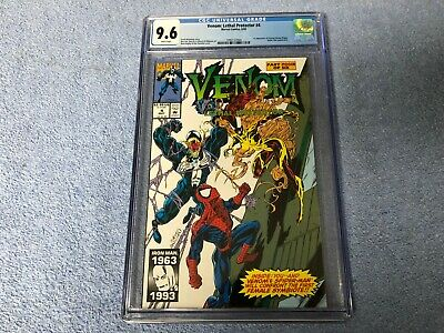Venom: Lethal Protector #4 (May 1993, Marvel) CGC 9.6 1st App Of Scream