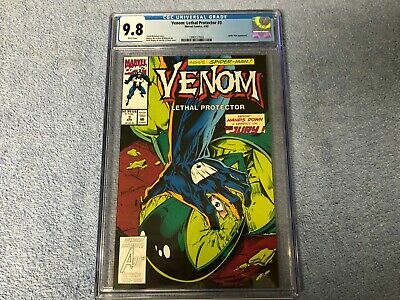 Venom: Lethal Protector #3 (1993) Spider-Man Appears Marvel CGC 9.8