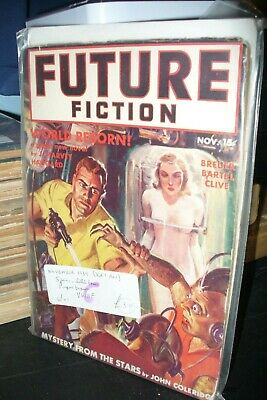 Future Fiction First Issue Us Edition November 1939 [1 Issues]