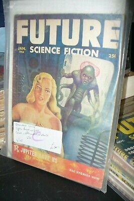 Future Science Fiction Us Edition  January 1954 [1 Issues]
